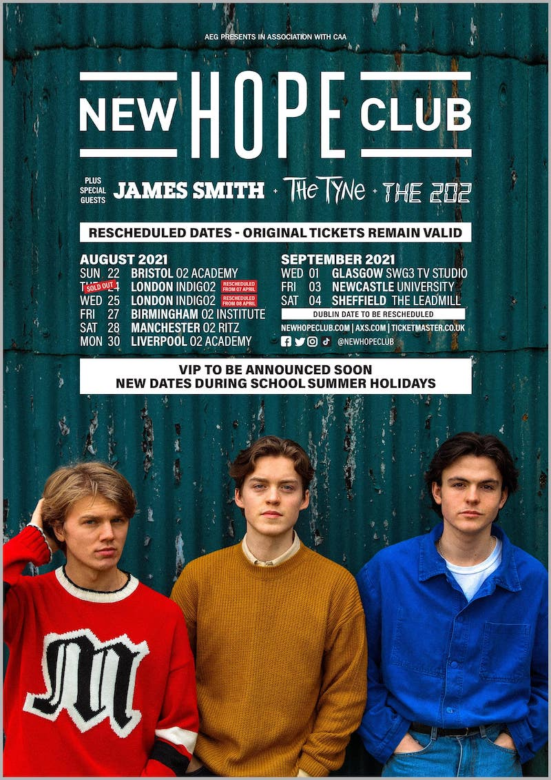 New Hope Club - Virtual World Tour